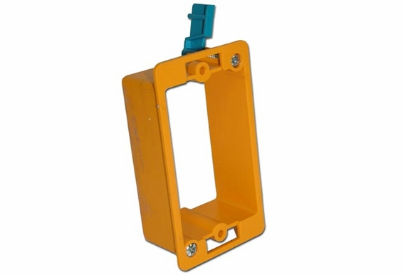Single Gang Mounting Box Low Voltage Only