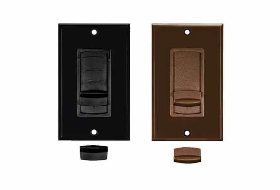 Slider Volume Control Color Change Kit (Black or Brown)