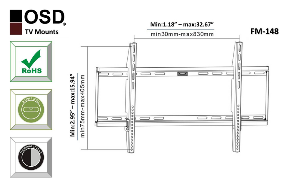 tv wall mount for plasma  led  lcd 37 u0026quot