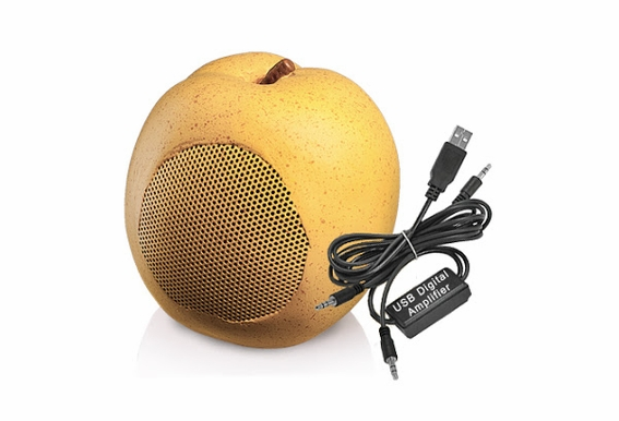 USB Speakers - Pear
