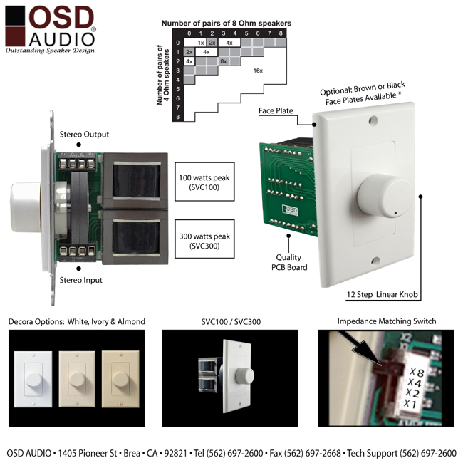 Outstanding Ceiling Speaker Volume Control Wiring Diagram Pictures ...