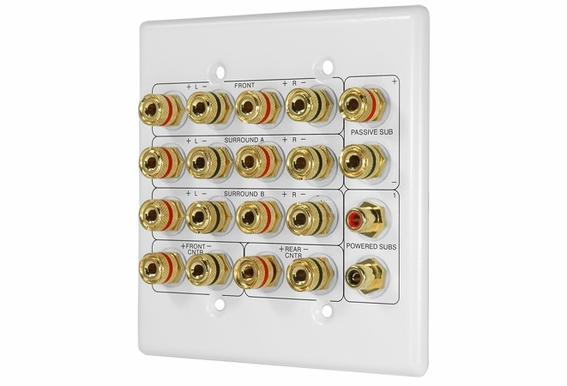 home theater wall plates wp20 7 1 home theater wall plate outdoorspeakerdepot 180