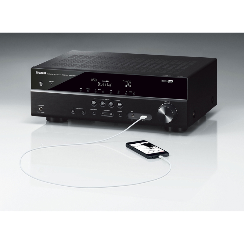 yamaha rx v377 5 1 channel av receiver