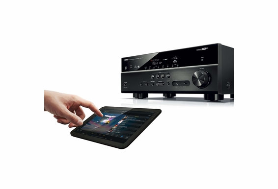 Yamaha RX-V577 7.2 Channel built-in Wireless Network AV Receiver