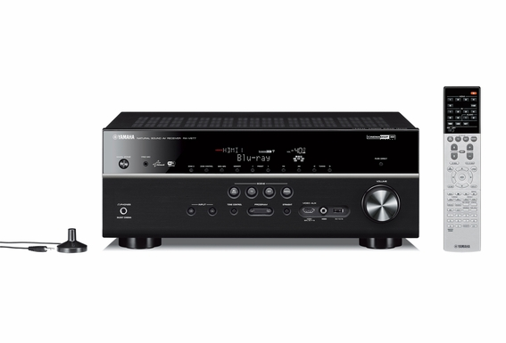 Yamaha RX-V679 7.2-channel Wi-Fi Network Home Theater receiver with Apple AirPlay