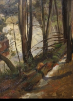 BRAUNER:  FALL CREEK - 1905</a><br><b>- SOLD</b>