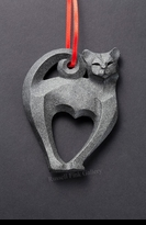 CAT:  CAT ORNAMENT IV