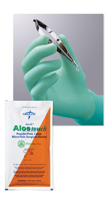 Aloetouch MicroThin Surgical Gloves - Size 9