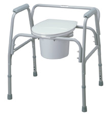 Bariatric Commode - Seat and Lid for MDS89664XW