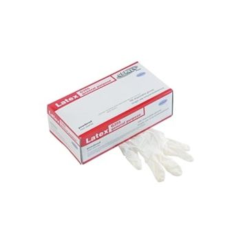 Boardwalk General-Purpose Natural Rubber Disposable Latex Gloves