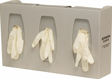 Glove Box Dispenser - Triple with Dividers
