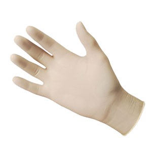 Latex Gloves Exam Grade, Powder Free
