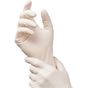 (SOLD-OUT) 8 Mil Latex Exam Gloves