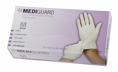 Mediguard Powder Free Latex Exam Gloves