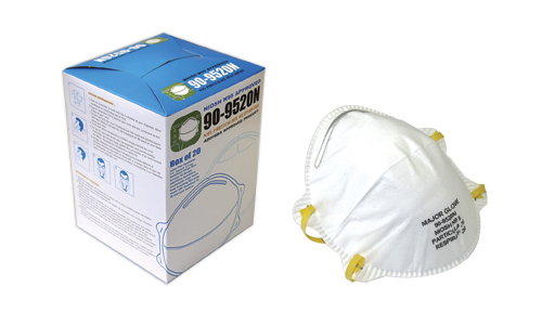 N95 FACE MASK PARTICULATE RESPIRATORS  (240 per case) Filters Bacteria