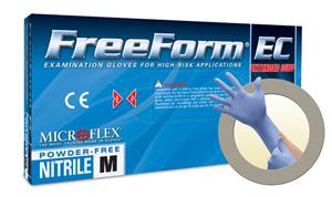 (SOLD-OUT) Nitrile Gloves, FreeForm EC, Microflex