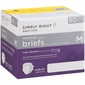 Simply Right Adult Care Briefs Medium 60 ct