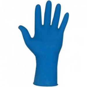 12 Mil Thick Blue Nitrile Gloves