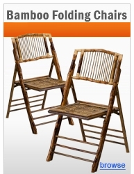 Bamboo Folding Chairs