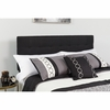 Bedford Tufted Upholstered King Size Headboard in Black Fabric [HG-HB1704-K-BK-GG]