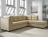 Benchcraft Maier Sectional with Right Side Facing Chaise in Cocoa Microfiber [FBC-2349RFSEC-COA-GG]