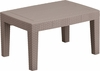 Charcoal Faux Rattan Coffee Table [DAD-SF2-T-GG]