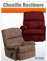 Chenille Recliners