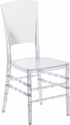 Flash Elegance Crystal Ice Stacking Chair [BH-H006-CRYSTAL-GG]