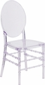 Flash Elegance Crystal Ice Stacking Florence Chair [Y-3-GG]