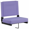 Grandstand Comfort Seats by Flash with Ultra-Padded Seat in Purple [XU-STA-PUR-GG]