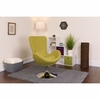 Egg Series Green Fabric Side Reception Chair [CH-162430-GN-FAB-GG]