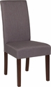 Greenwich Series Light Gray Fabric Parsons Chair [QY-A37-9061-LGY-GG]