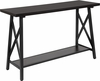 Hancock Park Collection Rustic Espresso Wood Finish Console Table [NAN-JH-1795ST-GG]