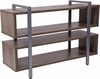 Harrison Rustic Wood Grain Finish TV Stand and Media Console [NAN-JH-1756-GG]