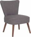 HERCULES Holloway Series Gray Fabric Retro Chair [QY-A02-GY-GG]