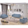 HERCULES Lacey Series Reception Set in Gray [ZB-LACEY-831-2-SET-GY-GG]