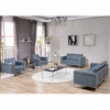 HERCULES Lesley Series Reception Set in Gray [ZB-LESLEY-8090-SET-GY-GG]