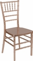 HERCULES PREMIUM Series Rose Resin Stacking Chiavari Chair [LE-ROSE-GG]