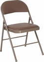 HERCULES Series Double Braced Beige Vinyl Folding Chair [HA-F003D-BGE-GG]
