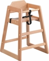 HERCULES Series Stackable Natural Baby High Chair [XU-DG-W0024-NAT-GG]