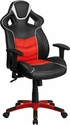 High Back Rosso Corsa Red Executive Gaming-Racing Swivel Chair with Comfort Coil Seat Springs and Red Base [CP-B331A01-RED-GG]