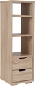 Howell Collection Bookshelf with Storage Drawers in Sonoma Oak Wood Grain Finish [EV-BC-1240-01-GG]