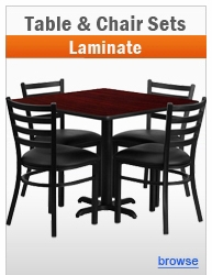 Laminate Table & Chair Sets
