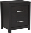Lancaster Collection 2 Drawer Nightstand in Espresso Finish [EV-ST-5850-00-GG]