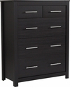 Lancaster Collection Chest of Drawers in Espresso Finish [EV-DC-1080-05-GG]