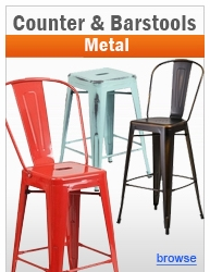 Metal Counter Height & Bar Height Stools