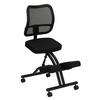 Mobile Ergonomic Kneeling Chair with Black Mesh Back [WL-3520-GG]