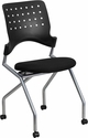 Galaxy Mobile Nesting Chair with Black Fabric Seat [WL-A224V-GG]