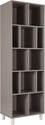 Montclair Collection Bookshelf in Gray Finish [EV-BC-1760-04-GG]