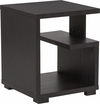 Morristown Collection End Table in Espresso Wood Finish [EV-ST-4438-00-GG]